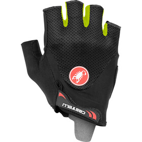 Castelli Arenberg Gel 2 Gants, black/yellow fluo